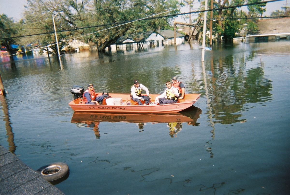 USAR team in New Orleans after Hurricane Katrina