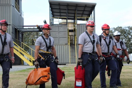 Roco Rescue instructor team arriving prepared for training