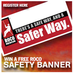 Roco Safer Way Banner Giveaway
