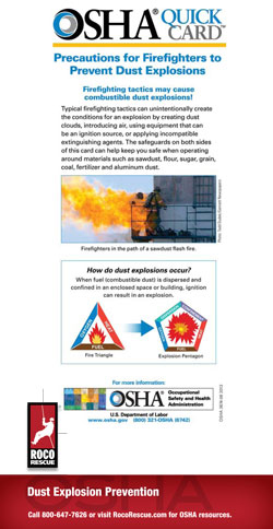 Combustible Dust and Confined Spaces
