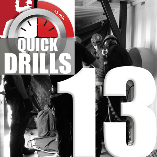 Roco Quick Drill #13 - Silent Drill (Know your job, do your job!)