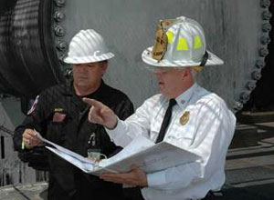 Is relying on my local fire department in compliance with OSHA 1910.146?