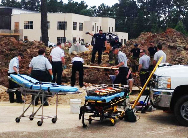 Incident: Two Workers Buried in Trench Collapse
