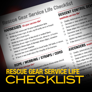 Service Life Guidelines for Rescue Equipment